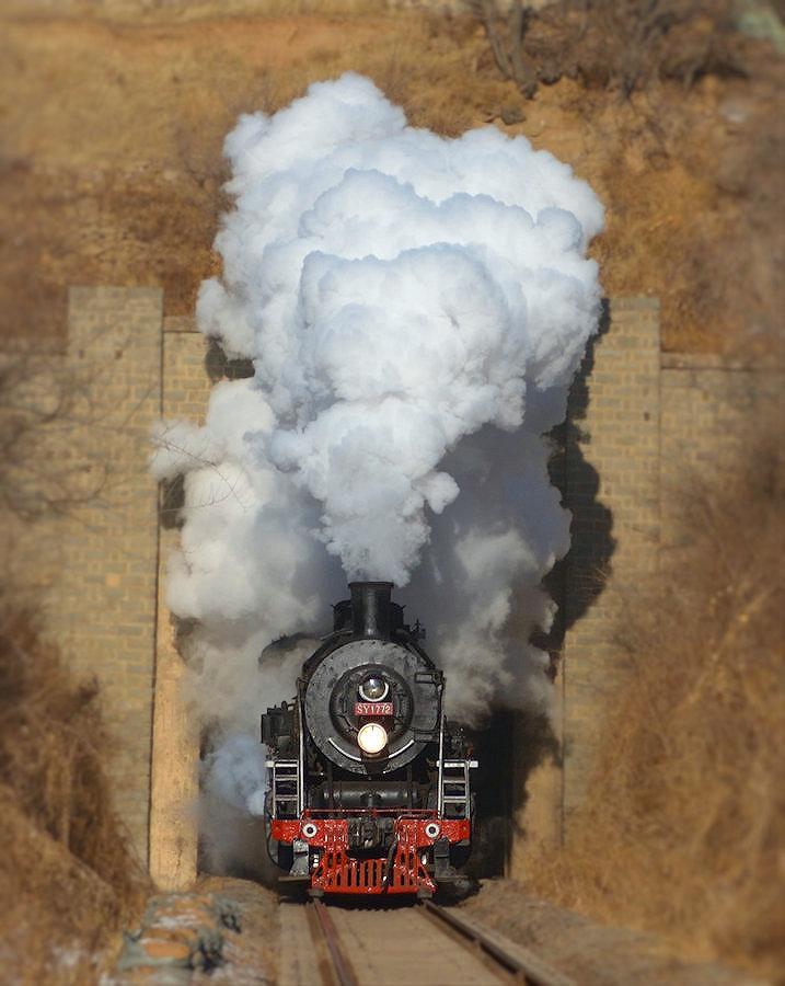 SY1772 Tiefa Dampflok Tanago Eisenbahnreisen