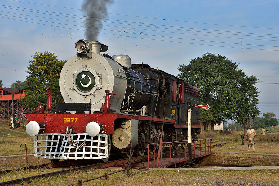 HG/S 2277 Pakistan Railways Attock City Tanago