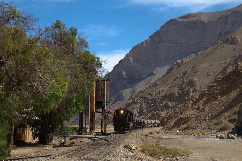 Chile Ferronor Tanago Eisenbahnreisen
