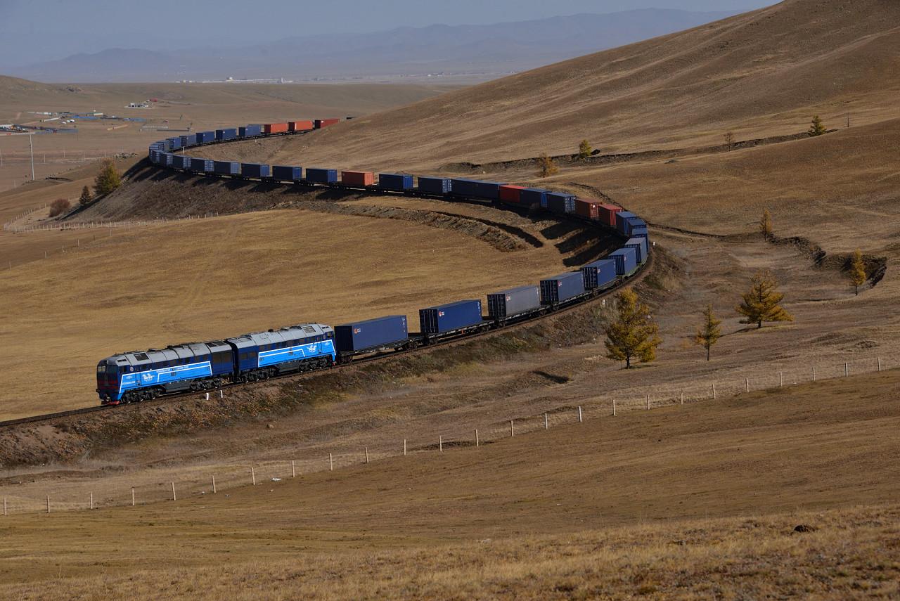 Transmongolische Eisenbahn Mongolei Tanago Eisenbahnreisen