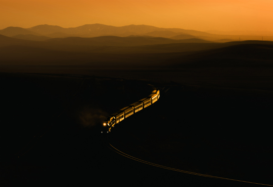 Mongolei Transmongolische Eisenbahn Tanago Eisenbahnreisen