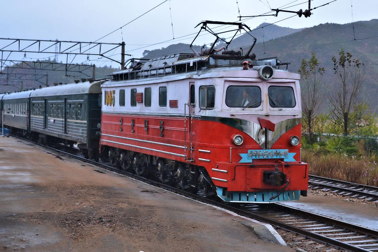Tanago Eisenbahnreisen Nordkorea