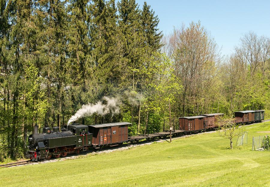 Steyrtal Güterzug Tanago Eisenbahnreisen