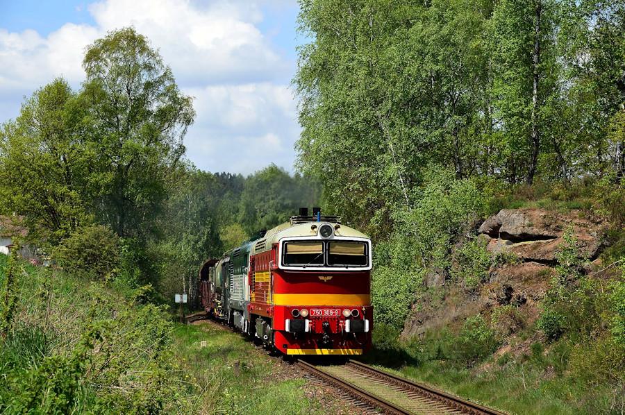 Diesel CD Tschechien 750 Tanago Eisenbahnreisen