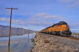 Diesel Union Pacific USA Tanago Eisenbahnreisen