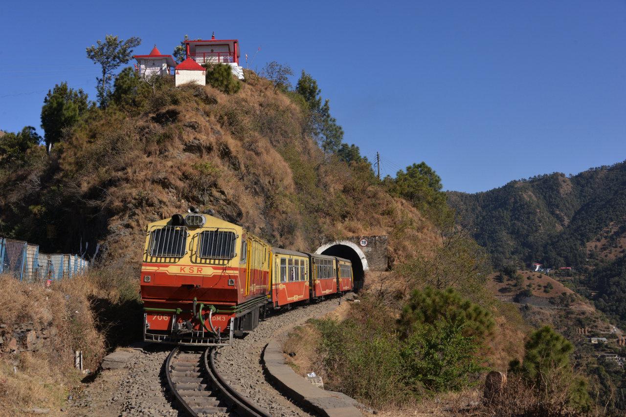 Indien Kalka Shimla Tanago Eisenbahnreisen
