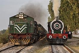 Pakistan: Breitspurdampf, November 2019, Tanago Railfan Tours / Eisenbahnreisen Erlebnisreisen
