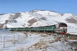 Mongolia February 2018 Tanago Eisenbahnreisen/Railfan Tours