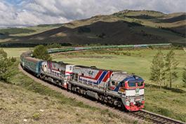 Mongolia June 2018 Tanago Eisenbahnreisen/Railfan Tours