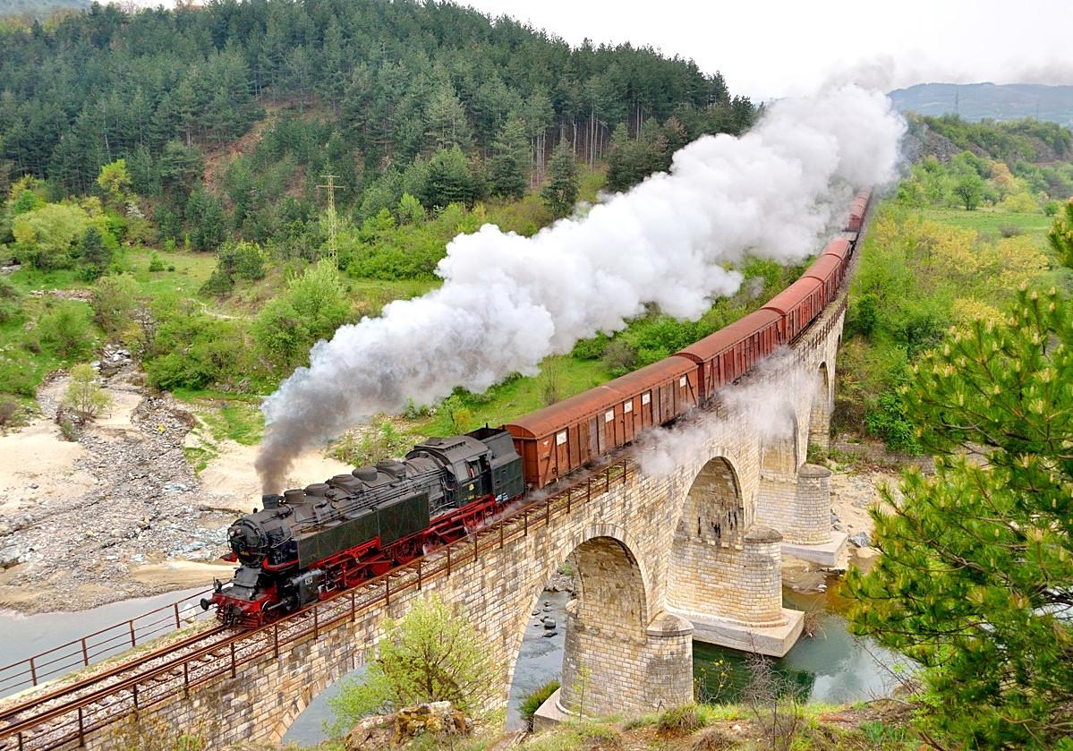 Bulgaria steam charter trains 46.03 Tanago photo charter railfan tours