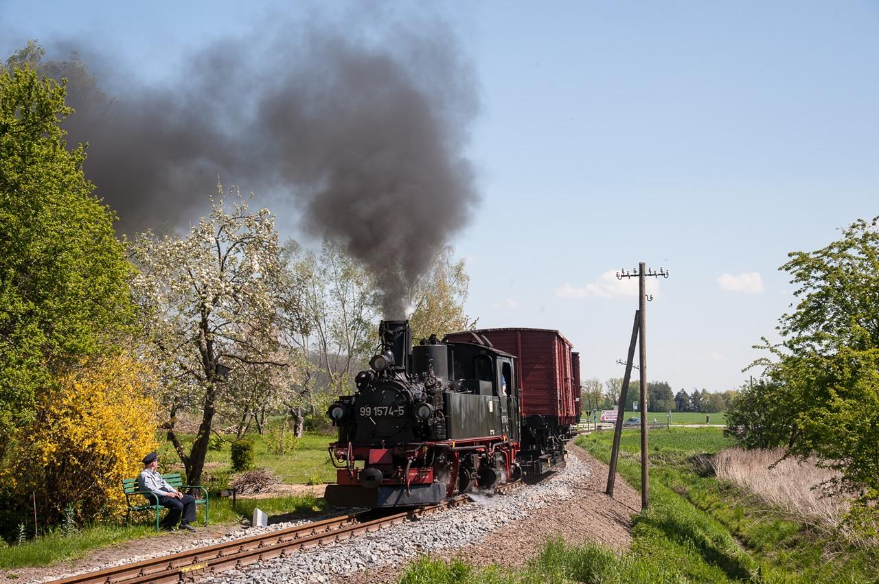 Döllnitzbahn IV K Sonderzug Tanago Eisenbahnreisen Fotofahrten