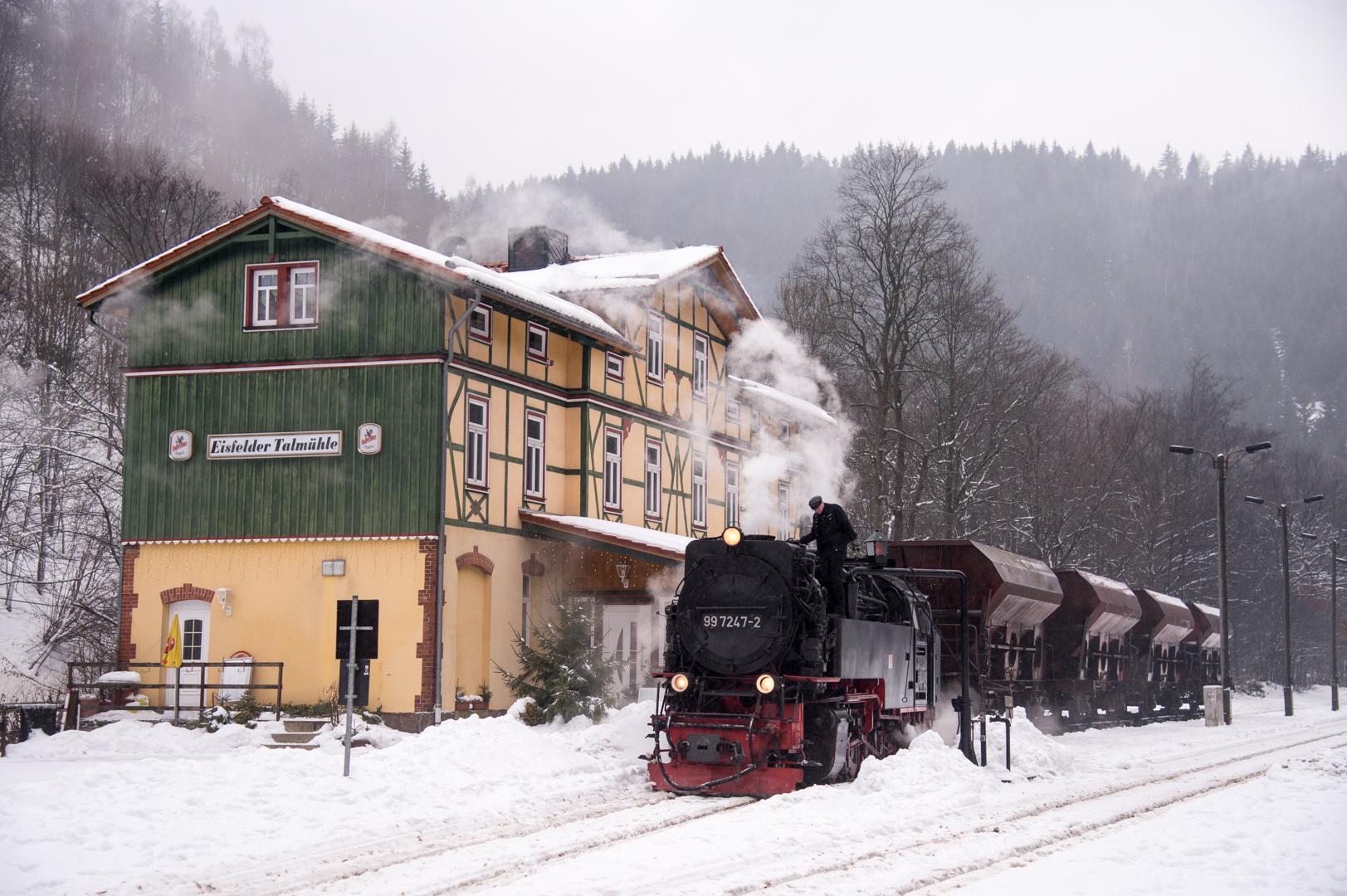 Tanago Eisenbahnreisen Harz