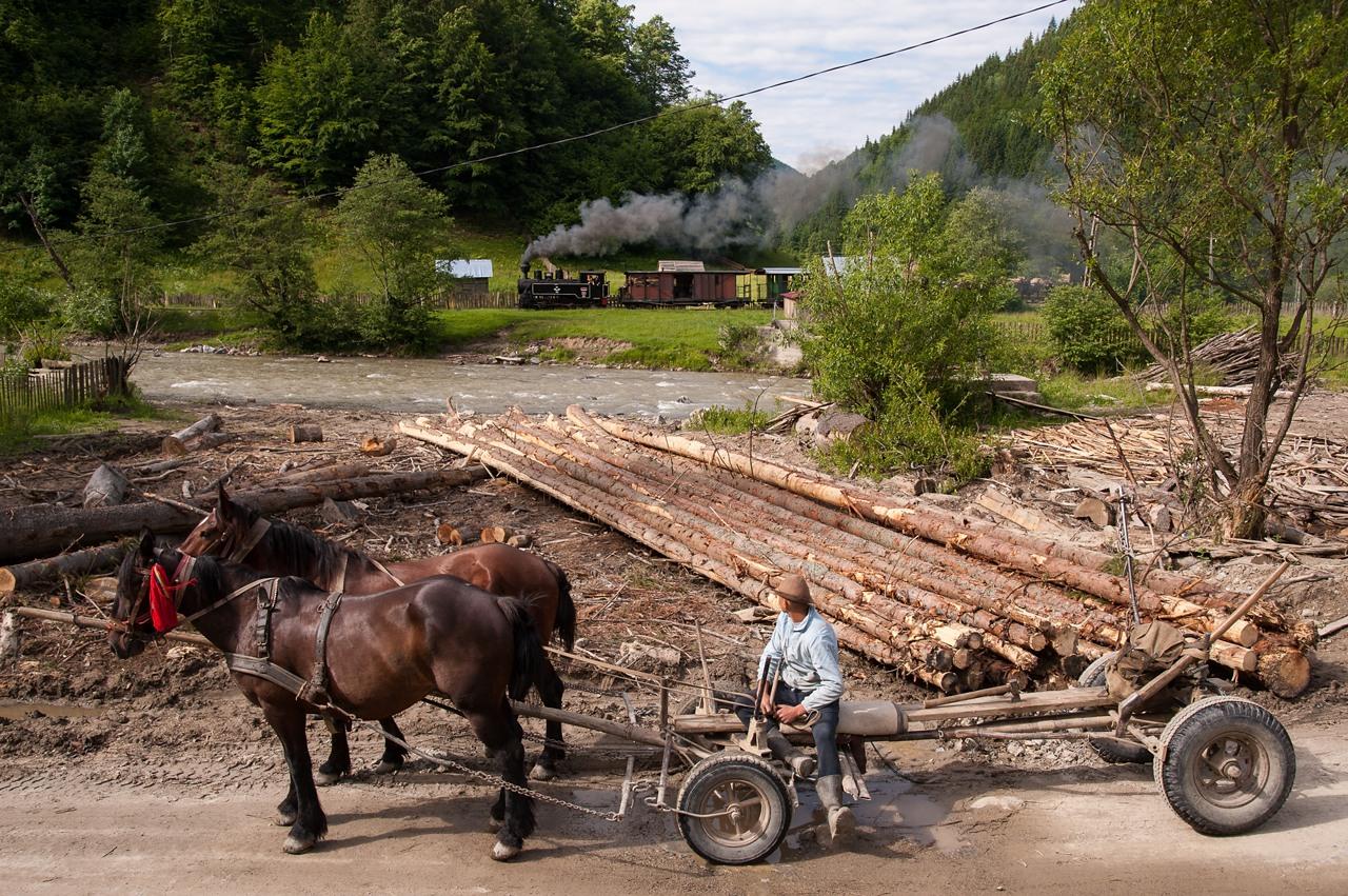 Rumänien Wassertal Dampflok Tanago Eisenbahnreisen