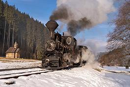 Slowakei: Cierny Balog, Februar 2020, Tanago Railfan Tours / Eisenbahnreisen Erlebnisreisen