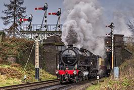 Great Britain: Great Central Railways, Januar 2020, Tanago Railfan Tours / Eisenbahnreisen Erlebnisreisen