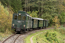 Austria: Ybbstal Railway, October 2020, Tanago Railfan Tours/Eisenbahnreisen Erlebnisreisen
