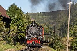 Fichtelbergbahn: auf den Spuren des GmP 69961, September 2019, Tanago Railfan Tours / Eisenbahnreisen Erlebnisreisen
