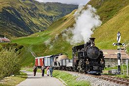 switzerland: Furka, September 2021, Tanago Railfan Tours/Eisenbahnreisen Erlebnisreisen