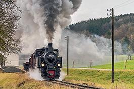 Österreich: Steyrtal Januar 2020, Tanago Railfan Tours / Eisenbahnreisen Erlebnisreisen