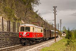 Frühsommer auf der Mariazellerbahn Mai 2019 Tanago Railfan Tours / Eisenbahnreisen Erlebnisreisen