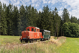 Austria: Waldviertler narrow-gauge railway, July 2018 Tanago Railfan Tours / Eisenbahnreisen Erlebnisreisen