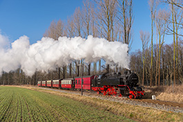 Baltic Sea Steam 03/2018, Tanago Eisenbahnreisen