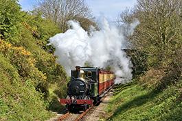 Isle of Man Tanago Eisenbahnreisen