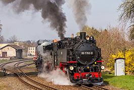Zittau–Mit Rollwagen ins Gebirge, April 2019, Tanago Railfan Tours / Eisenbahnreisen Erlebnisreisen
