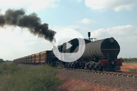 Link zum Video »Africa Steam 2015 - Part 1 - Copper mine in Botswana« auf YouTube