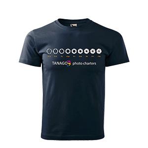 Tanago T-Shirt mit Aufdr