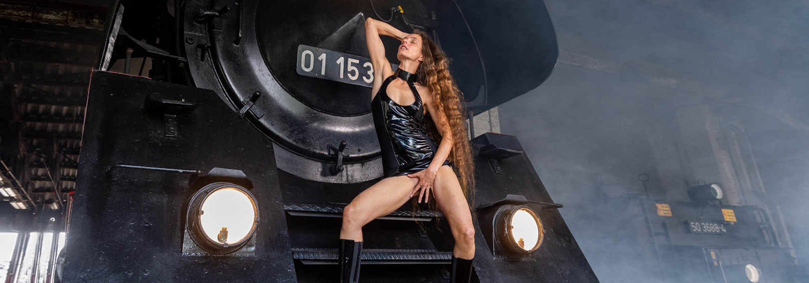 Tanago Fotoshooting Arnstadt Erlebnisreisen Eisenbahnreisen Dampflok
