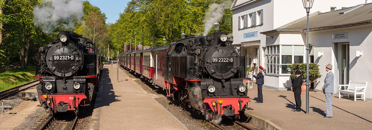Rasender Roland Molli Putbus Göhren Bad Doberan Tanago Eisenbahnreisen Erlebnisreisen
