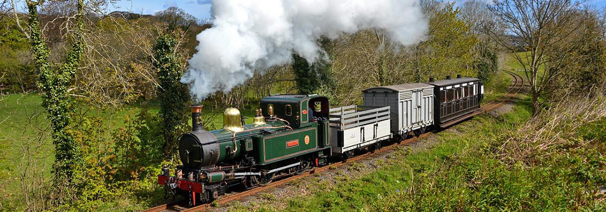 Isle of Man Dampflok Tanago Eisenbahnreisen Erlebnisreisen