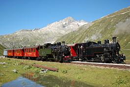 Schweiz: Dampf am Furka, Tanago Eisenbahnreisen Erlebnisreisen