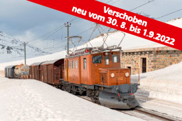 Winter auf der Rhätischen Bahn, Tanago Eisenbahnreisen