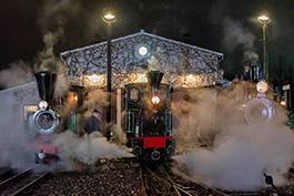 Nachts bei der Frankfurter Feldbahn, Tanago Eisenbahnreisen Erlebnisreisen