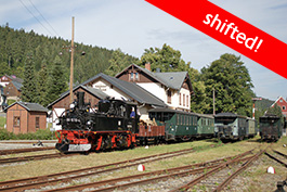 Germany: Rittersgrün – 1971 one day at the station, Tanago Railfan tours photo charter