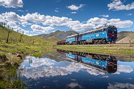 Mongolei Transmongolische Eisenbahn im Sommer 2021, Tanago Eisenbahnreisen Erlebnisreisen