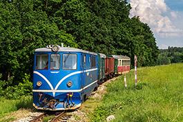 Czech Republic: JHMD, railcar Tanago Railfan tours photo charter