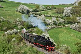 Dampfwolken über dem Brohltal, Tanago Eisenbahnreisen Erlebnisreisen