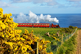 Isle of Man, railcar Tanago Railfan tours photo charter