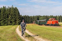 Österreich: Rollwagenbetrieb im Waldviertel, Tanago Eisenbahnreisen Erlebnisreisen