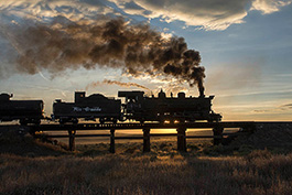 USA: The States in the Fall!, railcar Tanago Railfan tours photo charter