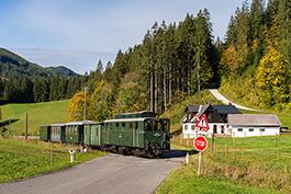 Österreich: Ybbstalbahn, Tanago Eisenbahnreisen Erlebnisreisen