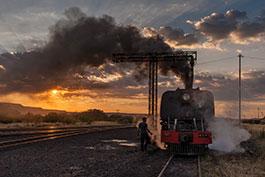 Zimbabwe: Sunrises and sunsets, Tanago Railfan tours photo charter